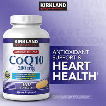 Description: Description: Description: Description: Description: Kirkland Signature CoQ10 300 mg., 100 Softgels