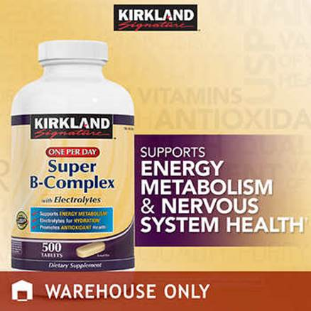 Description: Description: Description: Description: Description: Kirkland Signature Super B-Complex, 500 Tablets